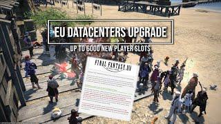FFXIV: EU Datacenters Player Limit Raised!