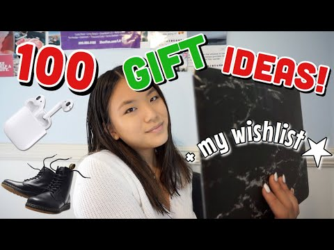 100 Christmas Gift Ideas + Wishlist 2018!