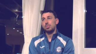 Mark Ayres Interview after Rammy v Blyth