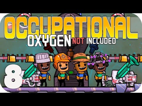 COLD FRONT NEEDED! - Oxygen Not Included ▶OCCUPATIONAL UPGRADE◀  EP8 ONI JOBS UPDATE