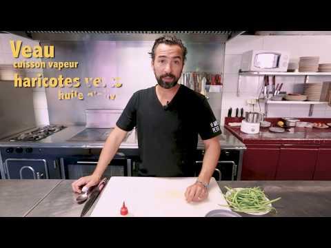 recette-de-veau-cuisson-vapeur-haricots-verts-par-pierre-augé
