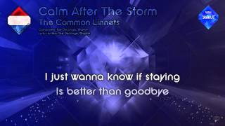 "The Common Linnets - ""Calm After The Storm"" (The Netherlands) - [Instrumental version]"