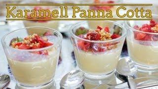 Rezept - Karamell-Panna-cotta - Nachspeise (Red Kitchen - Folge 238)