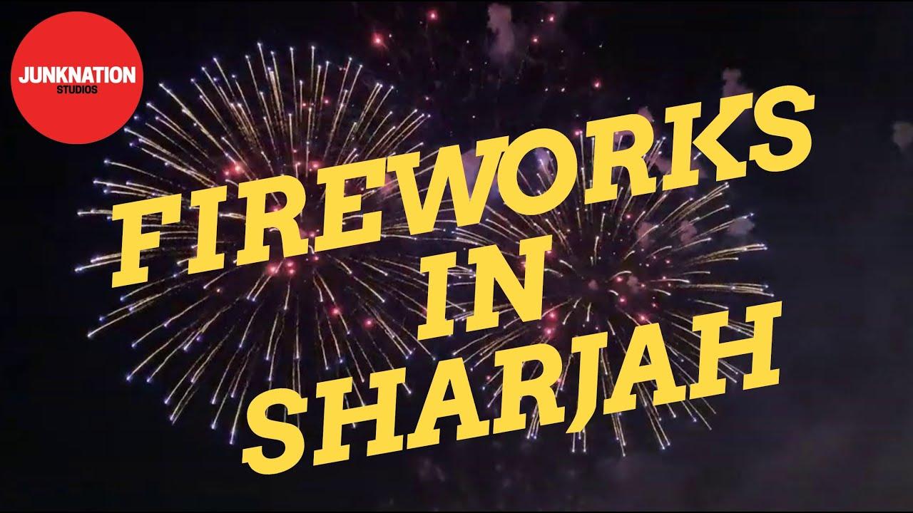 Sharjah New year 2020 Fireworks - YouTube