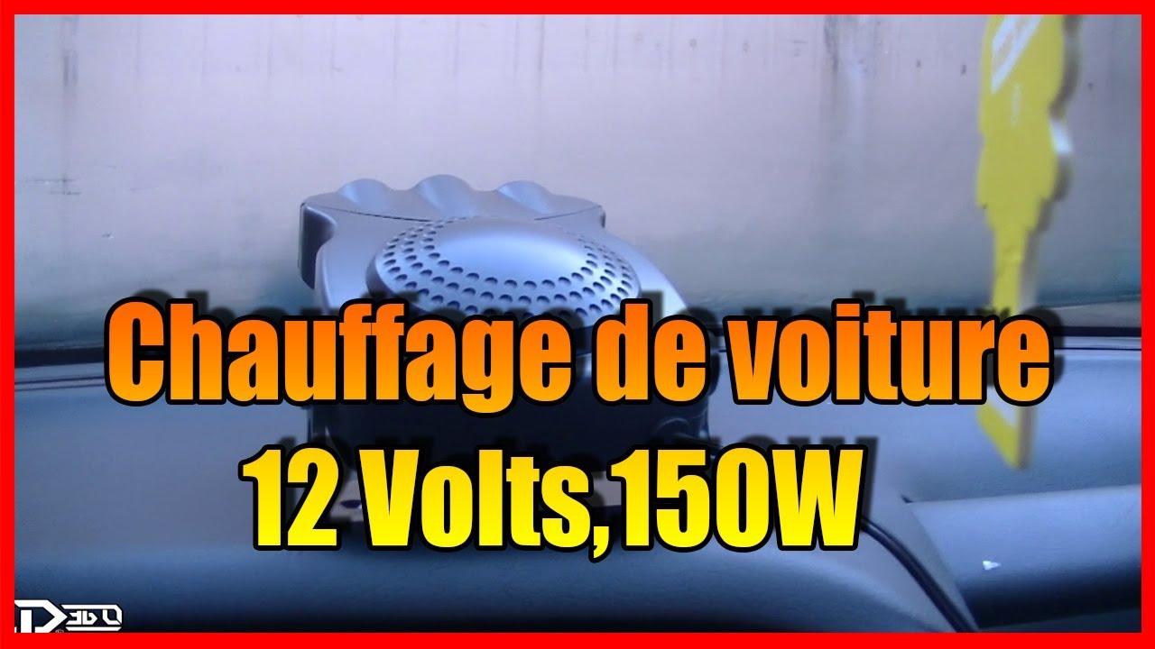 chauffage de voiture 12 volts 150w c 39 est de la. Black Bedroom Furniture Sets. Home Design Ideas