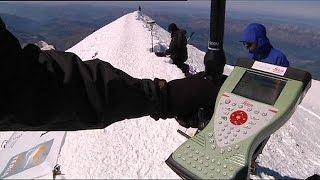 O Monte Branco está mais baixinho