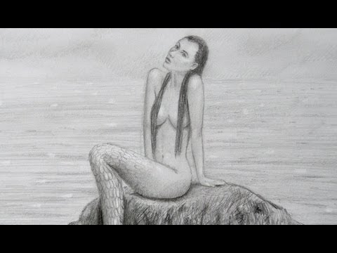 How to Draw a Mermaid - By ArtistLeonardo