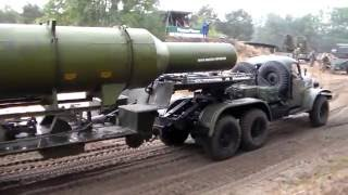 ZIL 157 Raketenschlepper Tag Der Technik Show Mahlwinkel 2016