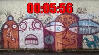 "GRAFFITI / Ein Mann namens ""HAZE"" / Writing your Name #5/86"