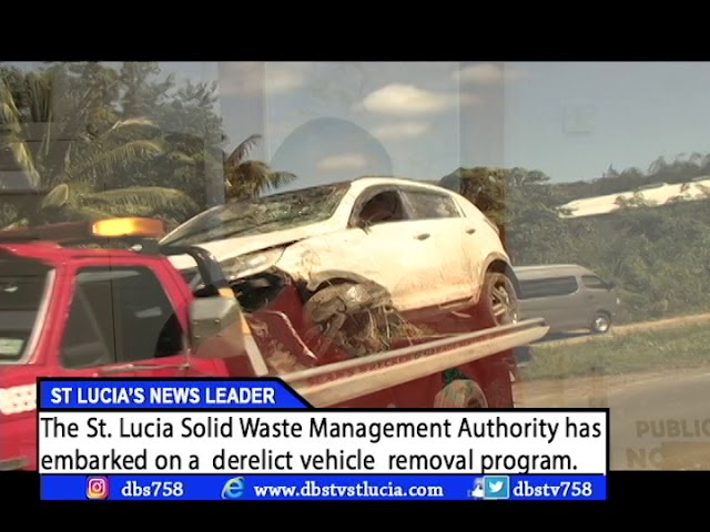 SOLID WASTE STARTS GETTING RID OF DERELICT VEHICLES