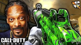 Playing CoD Ghosts With Snoop Dogg... LOL