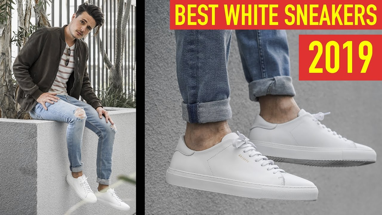 d0a882ae83 Best White Sneakers for Men 2019