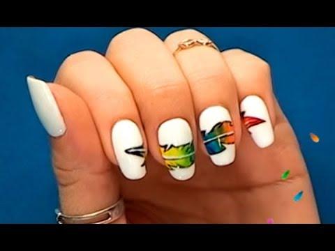 Как сделать трафарет для ногтей своими руками