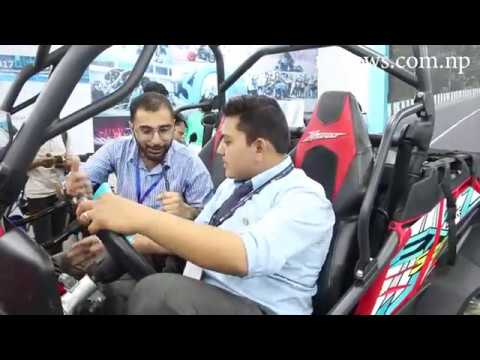 Reviews' with CF Moto for their unveiling of ZForce 550EX in NADA Auto Show 2019