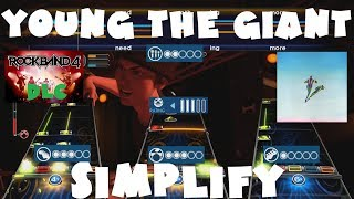 Young the Giant - Simplify - Rock Band 4 DLC Expert Full Band (September 13th, 2018)