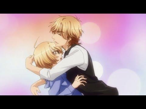 Мультфильм аниме любовная сцена