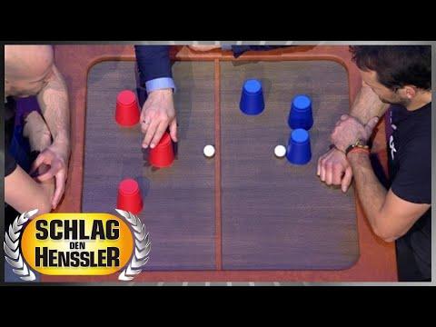 Spiel 3 - Hütchenspiel - Schlag den Henssler