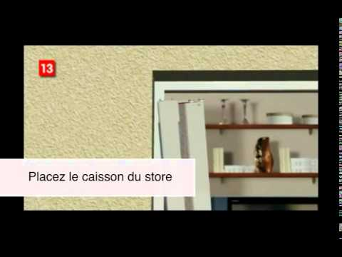comment installer une moustiquaire porte enroulable de la marque youtube. Black Bedroom Furniture Sets. Home Design Ideas