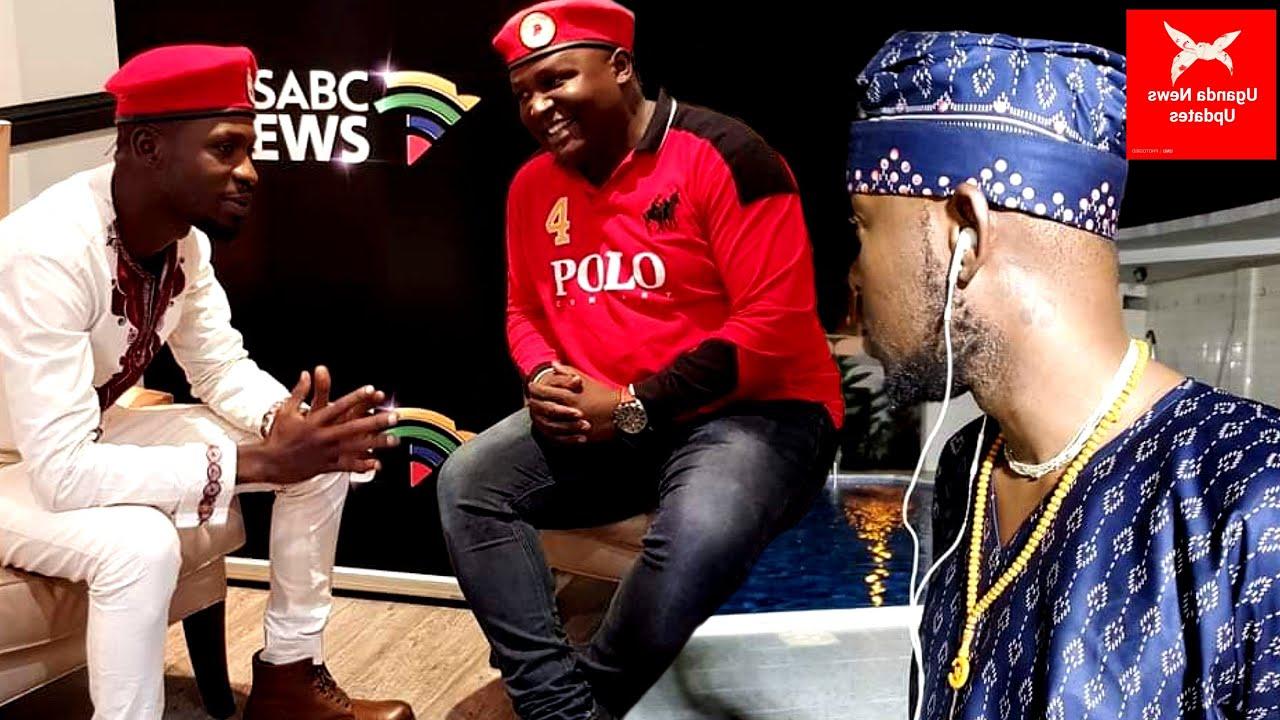 Akwata amasimu ga Bobi Wine, Ali Mawale alumbye Eddy Kenzo bubi nnyo.