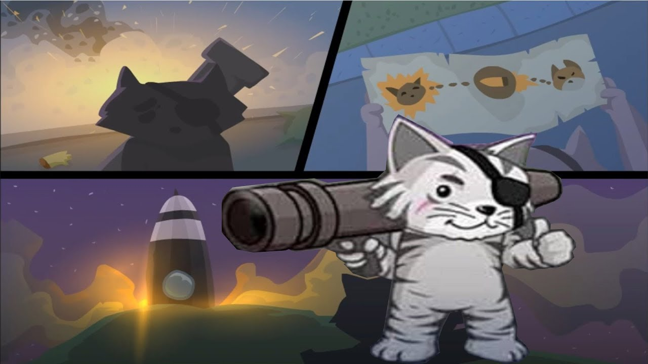 Кот с базукой часть 3 МЫ ПОБЕДИЛИ ВСЕХ ЗОМБИ ОТРЯД КОТЯТ игра от KGSTV
