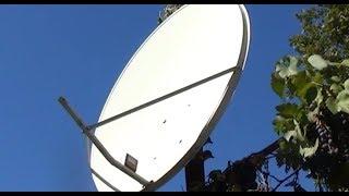 Как перенастроить антенну 0,9 метра с 39 градуса на МТС 75 градус
