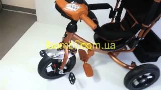 Детский трёхколёсный велосипед Lamborghini L2 NEW 2015 ключ зажигания надувные колёса abuza.net
