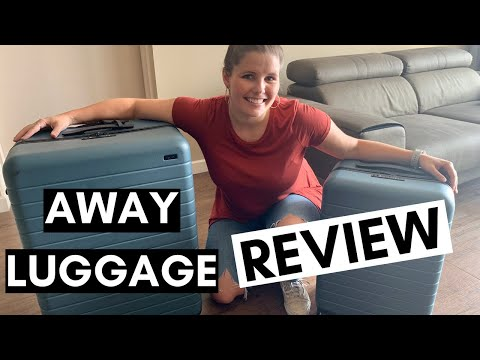 AWAY Large and Away Bigger Carry On REVIEW