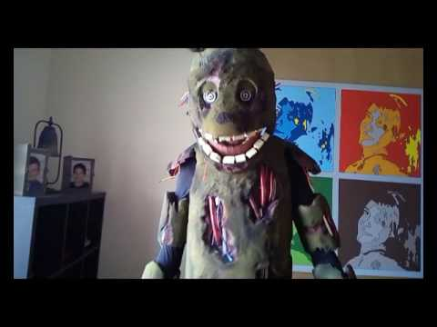 springtrap costume tutorial