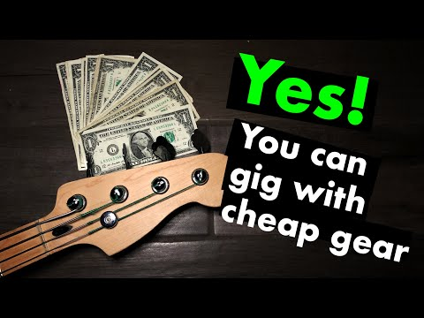 Can You Play Shows With Cheap Bass Gear?