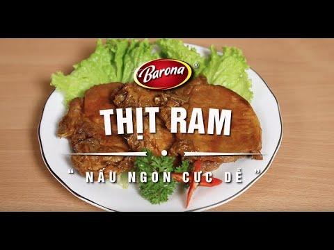Xốt Gia Vị Hoàn Chỉnh Barona- Thịt Ram 80g