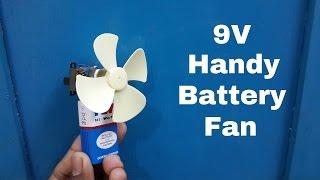 Hoe Maak je Een Zelfgemaakte 9V Handige Battery Fan - Fan Koeler