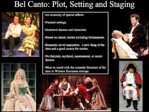Bel Canto Opera - An Introduction