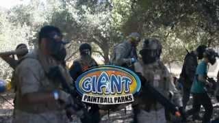 FLASHGITZ HOST AT GIANT PAINTBALL 07/28/2013
