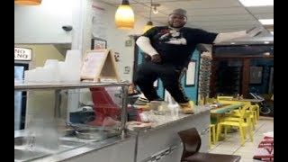 Fatboy SSE Does Blueface Thotiana Dance On Store Counter