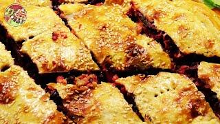 Весенний пирог с молодой свёклой и орехами. Просто, вкусно, недорого.