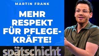 Martin Frank ist nicht systemrelevant
