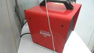 Тепловая пушка Elitech ТП 3ЕР(Очень быстро нагревает воздух на авто мойке. Пушка тепловая электрическая 1,5 / 3 кВт. Керамический нагревате..., 2016-12-21T20:18:32.000Z)