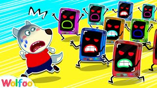 No More Cell Phone! Wolfoo Learns Good Habits for Kids | Wolfoo Family Kids Cartoon