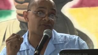 Norberto Tavares: Apresentação por A. Varela Carvalho durante o evento celebrando Tavares Norberto
