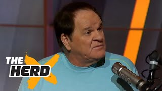 Pete Rose tells you why hitting in the majors is easier | THE HERD