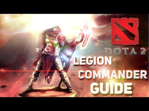 видео: dota 2 Гайд по герою - tresdin   legion commander   Легионша   Лега - Миссис Командер