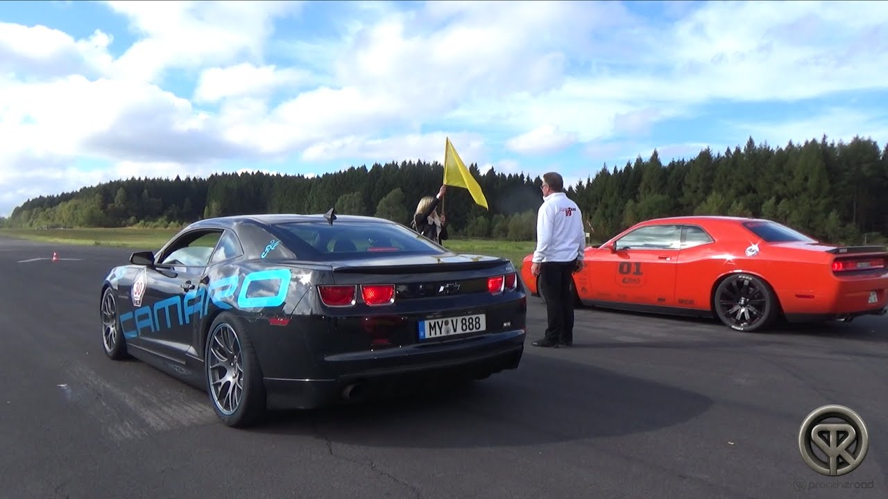 Chevrolet Camaro Ss Vs Dodge Challenger Srt8 Youtube