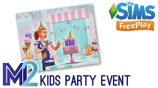 Sims FreePlay - Kids Party Event Prizes (Early Access)