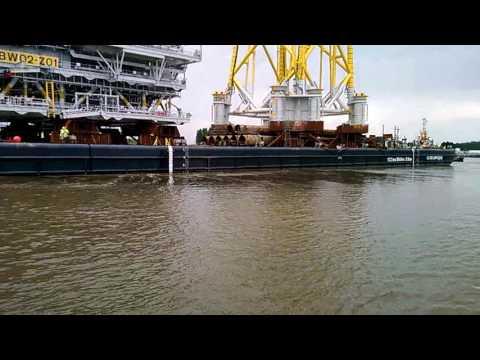 Burbo Bank Extension Sail Off Antwerpen Belgium