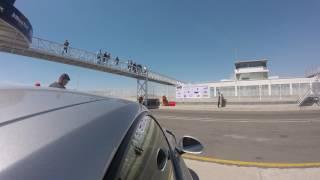 Go pro a bordo Porsche gt3 RS en trackday club TMC Amozoc Puebla Miguel E. Abed II