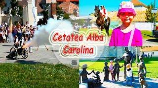 Cetatea Alba Carolina | Alba Iulia | Schimbarea garzii | Salve de tun | MeliMi canal pentru copii