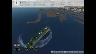 Ship Sim 2008 Entering Marseille Harbour