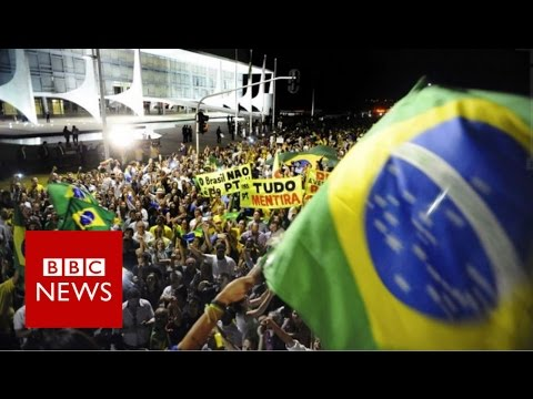Brazil protests over Lula appointment - BBC News