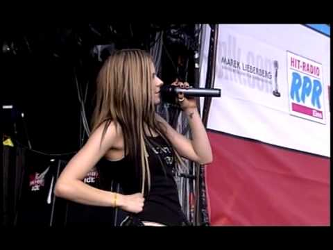 Avril Lavigne-Complicated Live At Rock AM Ring 2004