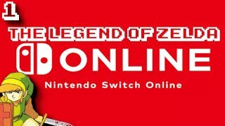 NES Nintendo Switch Online - The Legend of Zelda 100% [1]